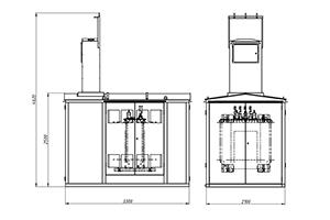 Чертеж контейнера КТП-02-18