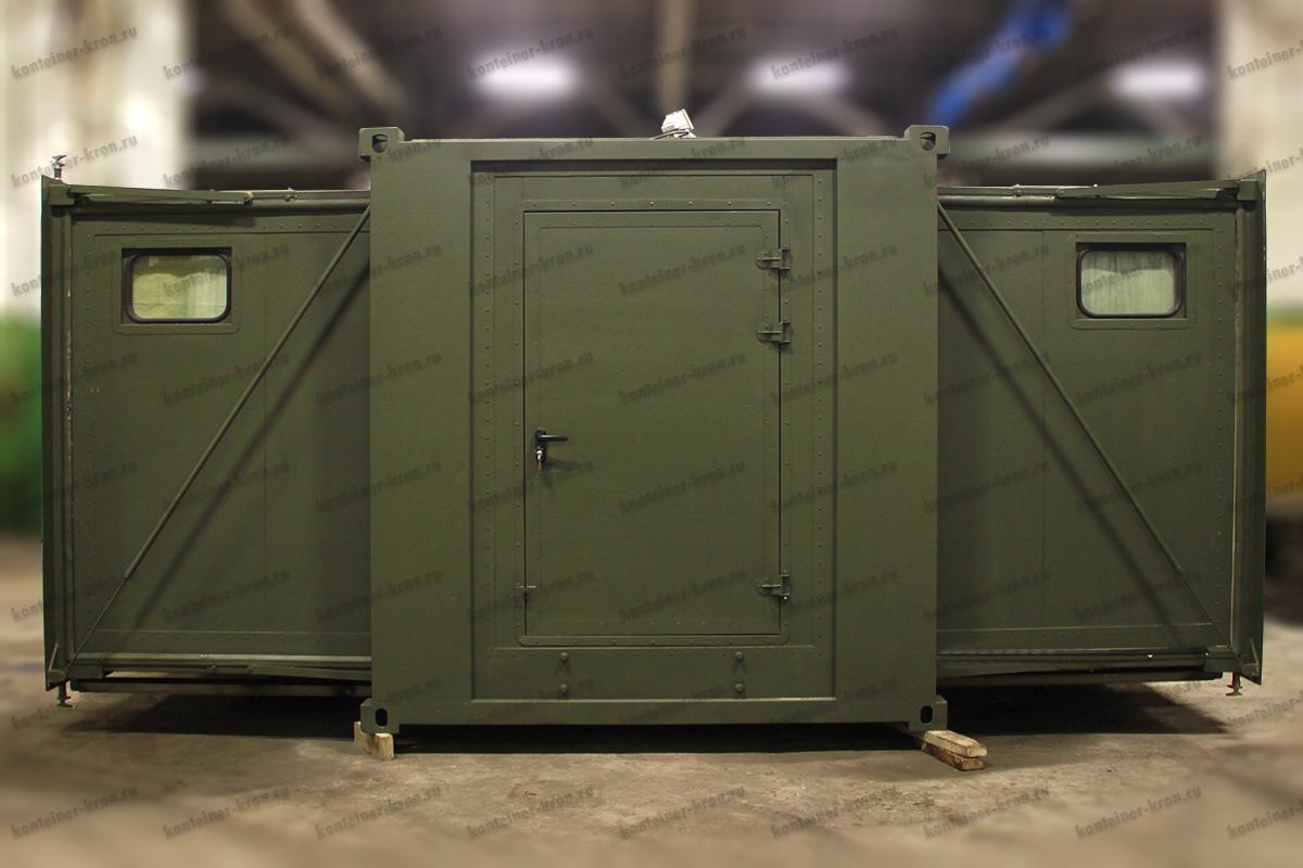 Блок контейнер баня