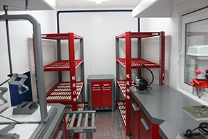 Фотографии аккумуляторной мастерской (12 метров)