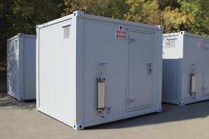 Фото блок-контейнера для генератора КРОН-БГУ-01