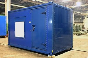 Фотографии контейнера с ДГУ-150 кВт общий вид
