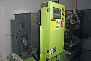 Фото дизельной-генераторной установки в контейнере