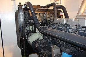 Фотография системы охлождения ДГУ