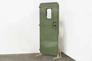 Вид сбоку двери для кузов-фургона КРОН-МД-02