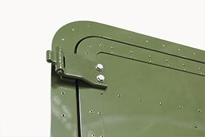 Металлические петли двери КРОН-МД-02