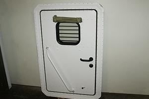 Дверь кузов-фургона КРОН-МД вид сзади