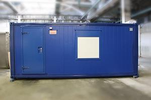 Фото блок-контейнера для ДГУ 458 кВт Volvo Penta