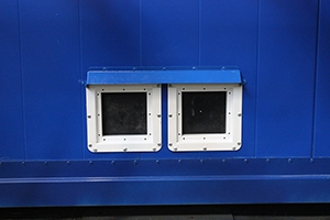 Вентиляционные решетки блок-контейнера