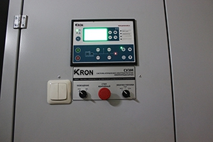 Система управления электроагрегатором