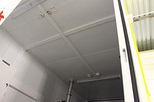 Фото кабель-каналов блок-контейнера ББН.4-6-0004