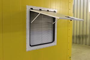 Фото вентиляционного люка блок-контейнера ББН.4-6-0004