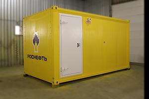 Фото блок-контейнера ББН.4-6-0004 вид спереди