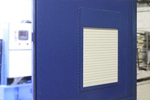 Фото окна с ролл-ставней в контейнере