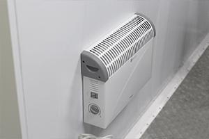 Отопление установленное в контейнере