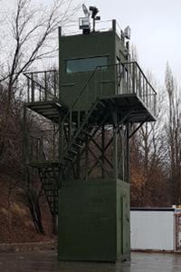 Фото наблюдательной вышки ВН-2