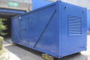 Контейнер для ДГУ АД-512С-Е400-2РНМ вид сбоку
