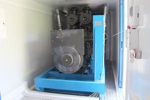 Фото дизельной генераторной установки в контейнере