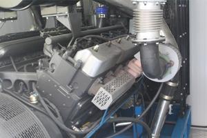 Общий вид дизельного генератора для контейнера