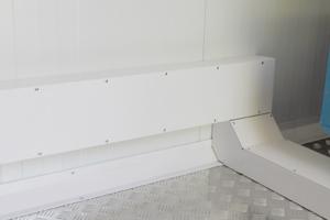 Фото вентиляционных отводов контейнера для ДГУ
