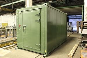 Фотография контейнера для ДГУ общий вид