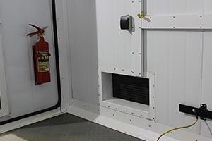 Вентиляционное отверстие контейнера для ДГУ