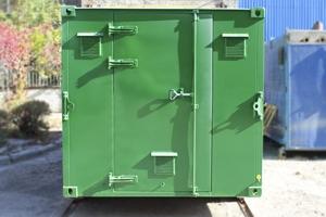 Фото общего вида металлического контейнера (КХО)