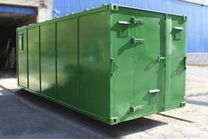 Фото контейнера для хранения оружия (КХО)