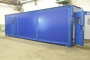 Фотография контейнера для насосной станции