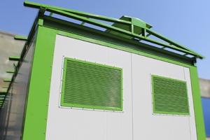 Металлическая конструкция двухскатной крыши