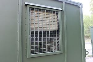 Фото металлической решётки на окна