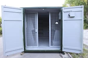 Фото раздвижной двери в открытом виде
