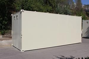 Фотография металлического контейнера КХО общий вид