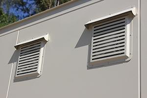 Фото вентиляционных решеток контейнера КХО