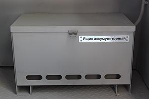 Фото металлического аккумуляторного ящика