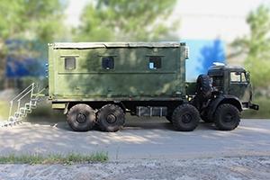 Фотография металлического контейнера ПОЖ