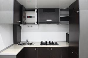 Фото кухонной комнаты контейнера ПОЖ