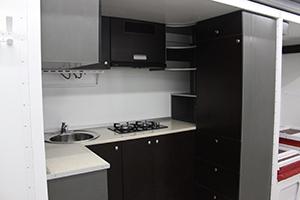Фотография кухонной комнаты вид сбоку