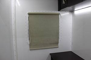 Фото шторки для окон контейнера ПОЖ