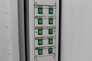 Фото панели освещения и вентеляции