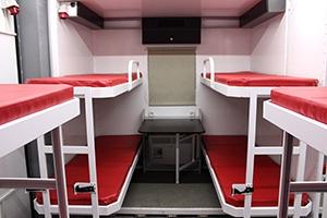 Фото двухместных спальных мест