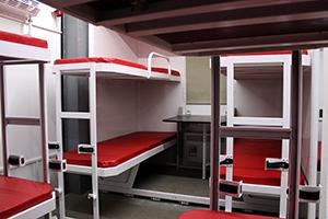 Фото спальных мест вид сбоку