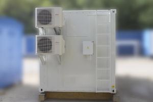 Фотография термоизолированного контейнера вид сбоку