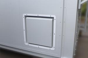 Фотография внешней вентиляционной решетки