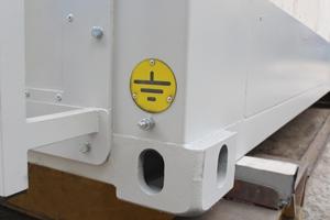 Фотография фитинга металлического контейнера
