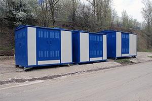 Фото контейнеров трансформаторной подстанции вид спереди
