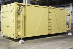 Фото кухонного модуля на базе кузов-контейнера