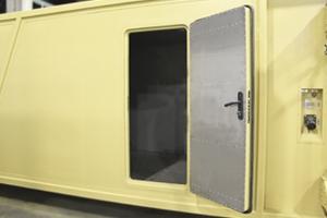 Входная дверь кухонного модуля
