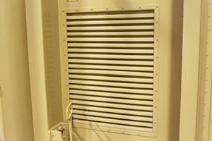 Вентиляционная решетка агрегатного отсека