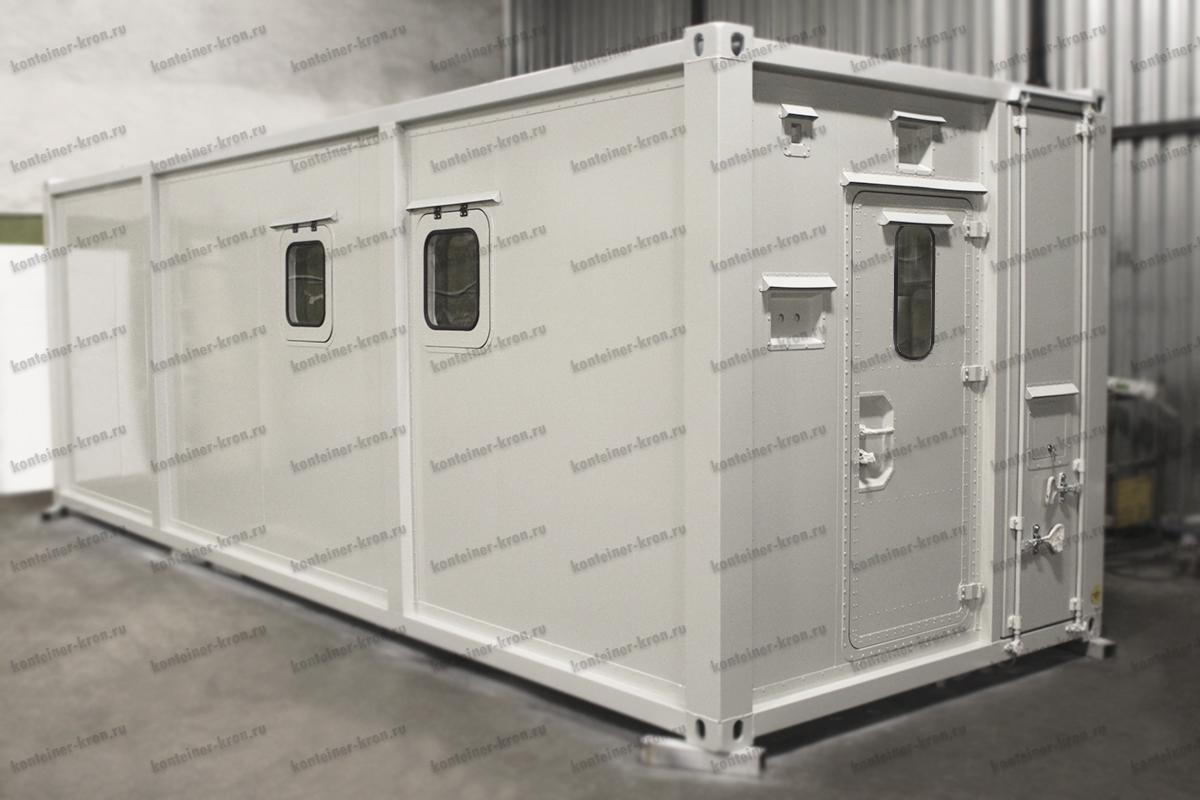 Фото контейнера для ДГУ общий вид