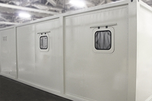 Окна установленные в контейнер ККПО